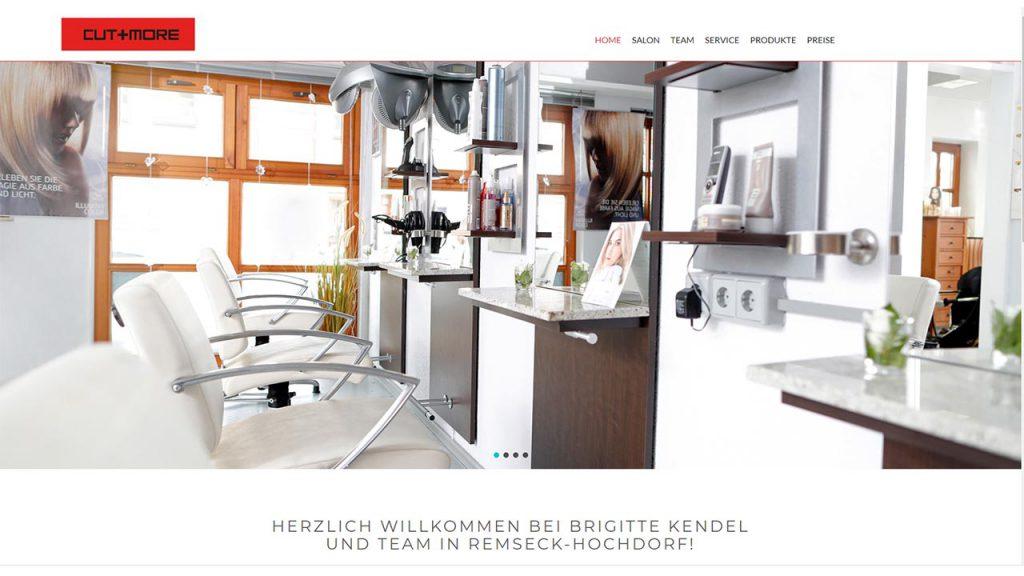 Homescreen Haarstudio-kendel.de